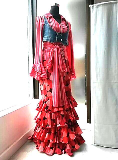 Colección flamenca África Moreno 2017
