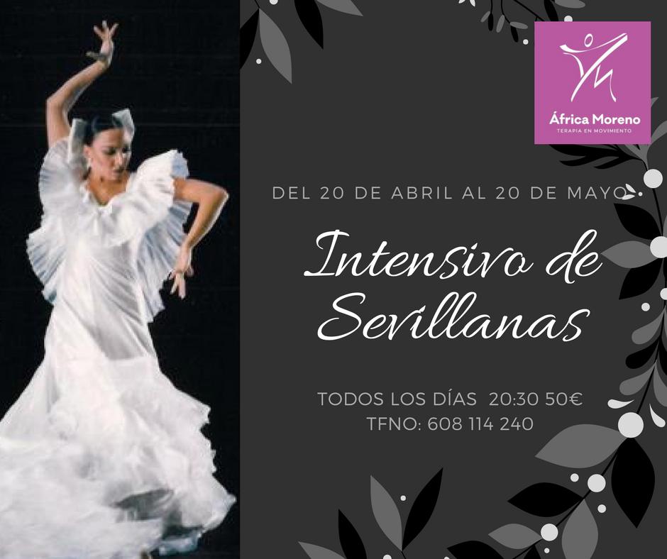 Curso intensivo Sevillanas con África Moreno