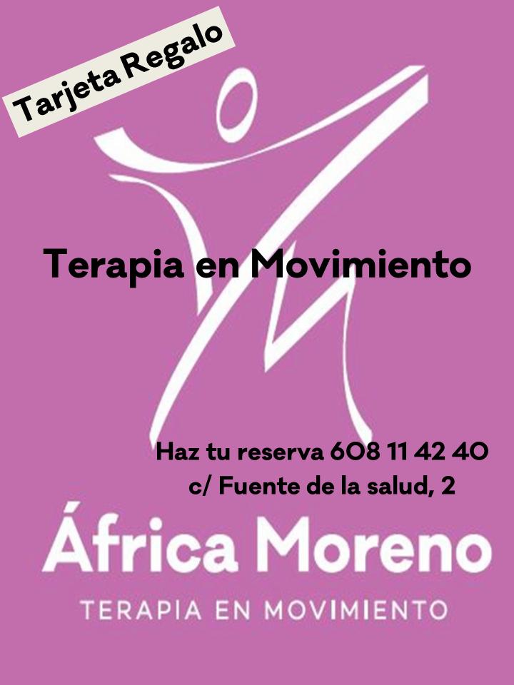 Tarjeta regalo para sesión con África Moreno