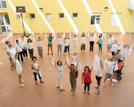 Participé en esta hermosa actividad, bailando por la paz. En Córdoba, 2017. África Moreno.