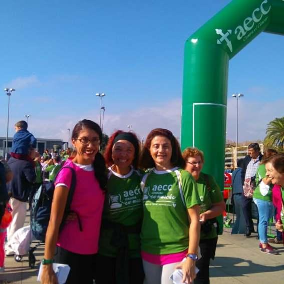 Mildred Largaespada, Africa Moreno y Chari Sanchez de Miguel