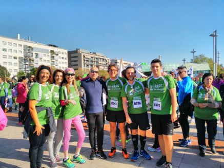 Nos encontramos un grupo con el que comparto muchos intereses para ayudar a la gente a curar la enfermedad del cáncer. Aquí con Chari Sánchez de Miguel, Juan de la Haba, Rosario Cuevas, Juanma López Aparicio.