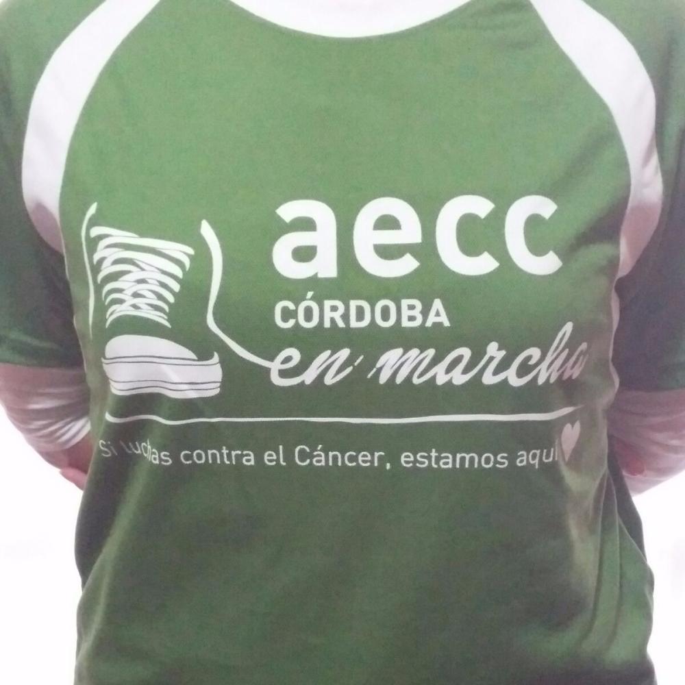 África Moreno lista para la marcha contra el cáncer,